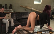 Petite european babes ass pounded