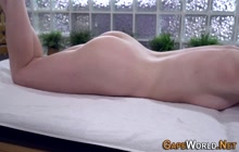 Kinky slut gets ass creampied