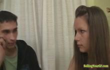 GF ravished in front of her cuck boyfriend
