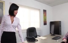 Busty Milf Getting Her Twat Fucked in the Office