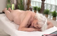 Busty granny loves a big hard cock in her pussy